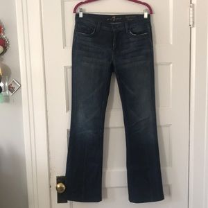 7 for all mankind | 28 | High-waist Bootcut Jeans